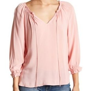 Velvet by Graham & Spencer Kimberly Ruffle Blouse